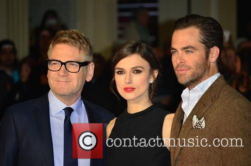 Kenneth Branagh, Keira Knightley and Chris Pine 11