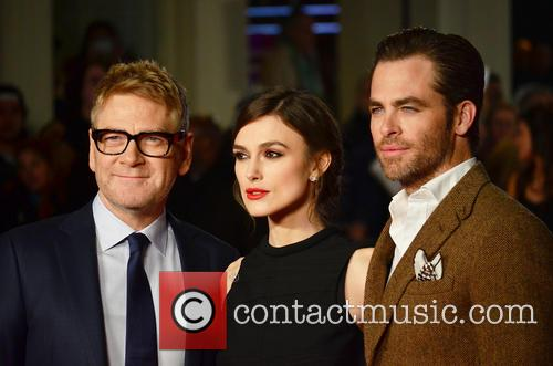 Kenneth Branagh, Keira Knightley and Chris Pine 12