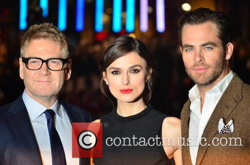 Kenneth Branagh, Keira Knightley and Chris Pine 13
