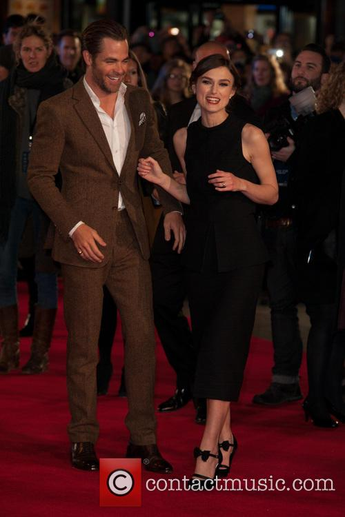 Chris Pine, Keira Knightley, Jack Ryan, Vue Cinema Leicester Square