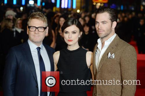 Kenneth Branagh, Keira Knightley and Chris Pine 18