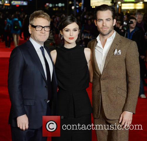Kenneth Branagh, Keira Knightley and Chris Pine 19