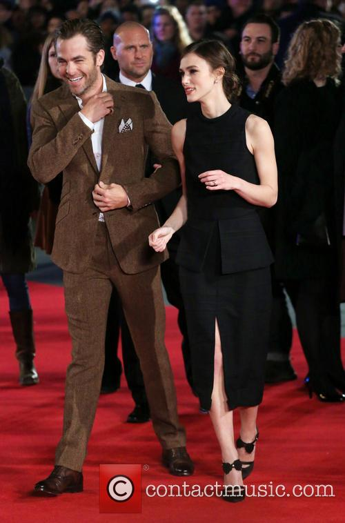 Chris Pine and Keira Knightley 8