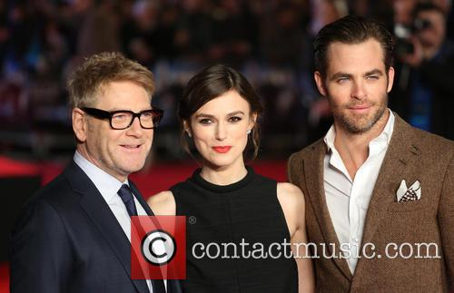 Chris Pine, Keira Knightley and Kenneth Branagh 5