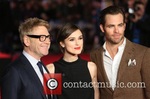 Chris Pine, Keira Knightley and Kenneth Branagh 7