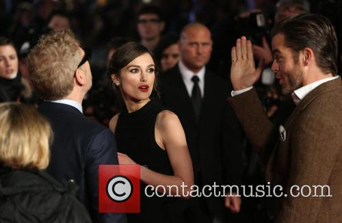Chris Pine, Keira Knightley and Kenneth Branagh 1