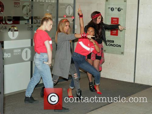 Little Mix BBC Radio1 studios