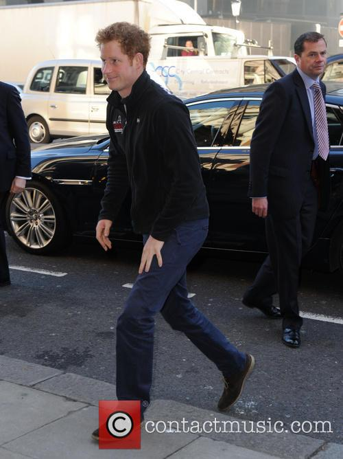 Prince Harry attends the Walking With The Wounded...