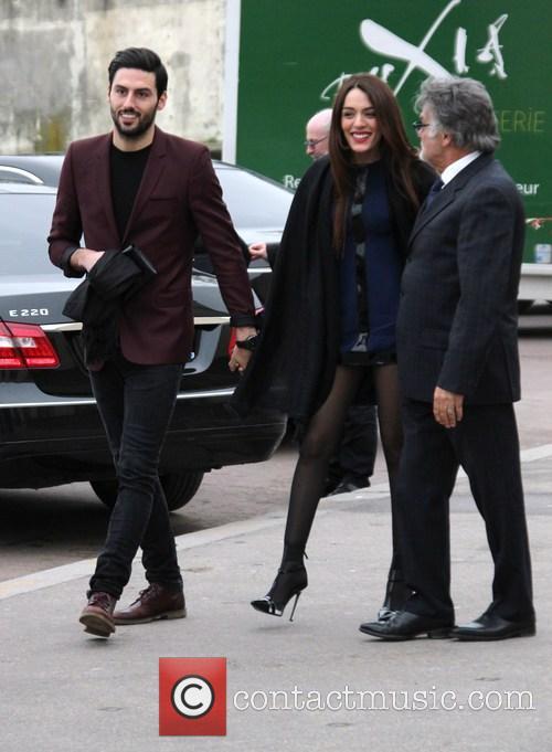 Sofia Essaidi and her boyfriend Adrien Galo