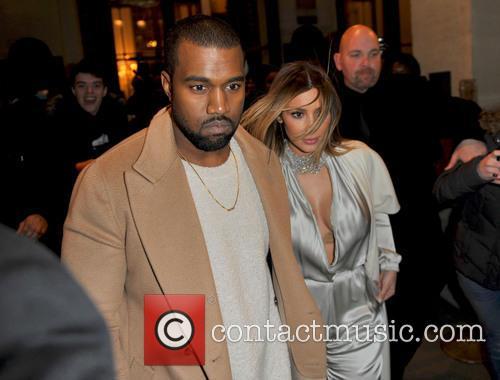 Kanye West and Kim Kardashian 2
