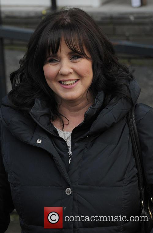 coleen nolan celebrities outside the itv studios 4034307