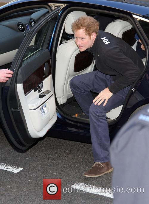prince harry walking with the wounded south 4034861