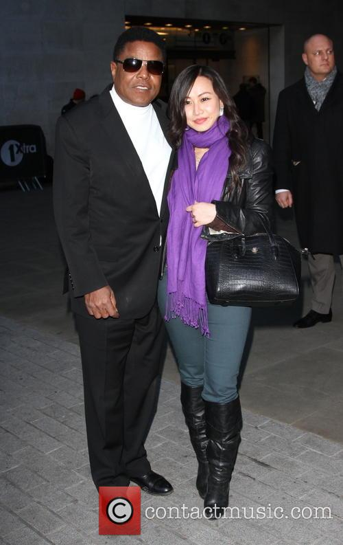 Tito Jackson outside BBC studios