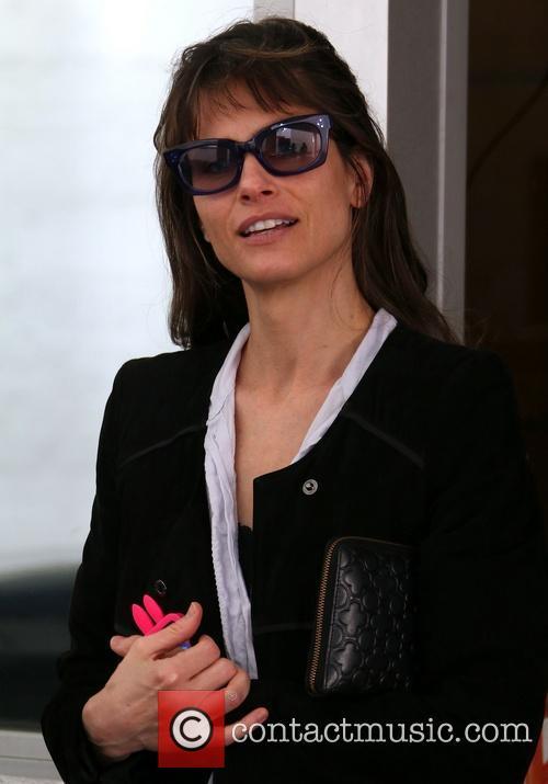 Amanda Peet In Beverly Hills