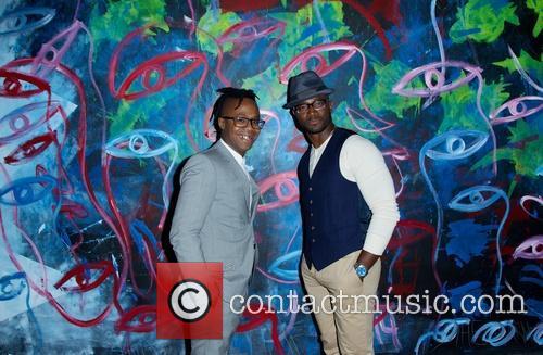 Jamel Robinson and Taye Diggs 2