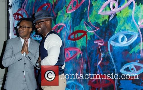 jamel robinson taye diggs launch party of chinese 4036707