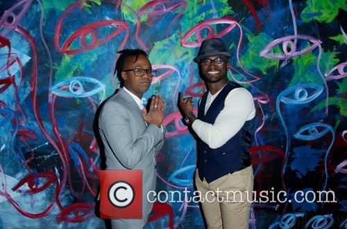 Jamel Robinson and Taye Diggs 5