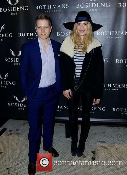 Matt Czuchry and Chelsea Leyland