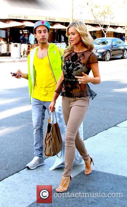 Steve Galindo and Joanna Krupa 2
