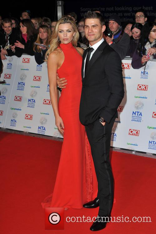 Abbey Clancy and Guest 2