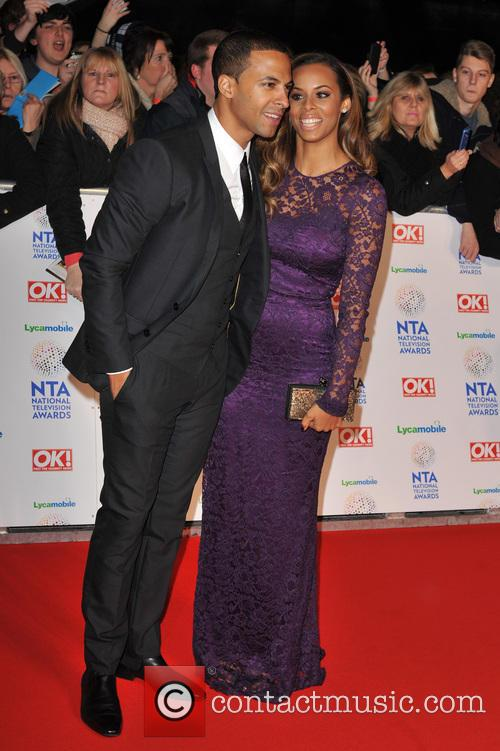 Marvin Humes and Rochelle Wiseman 1