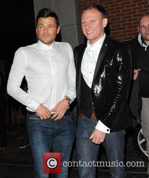 Mark Wright and Antony Cotton