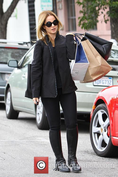 Mena Suvari out shopping in Beverly Hills