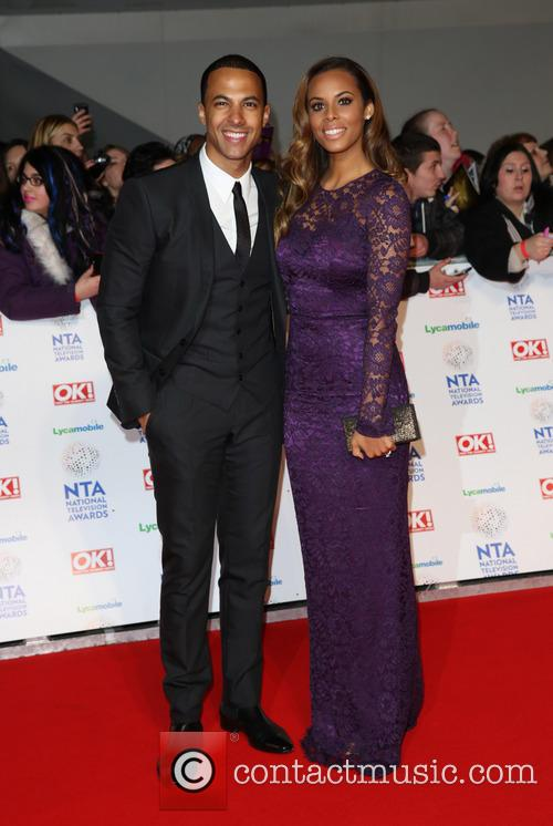 Marvin Humes, Rochelle Humes and Rochelle Wiseman 3