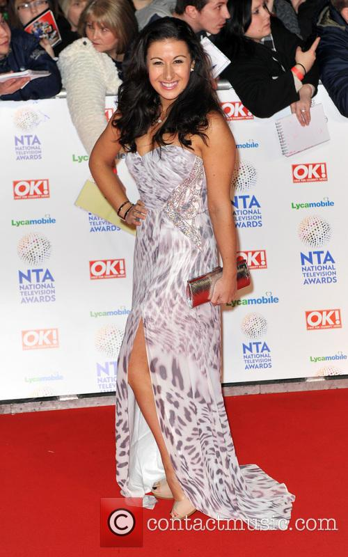 Hayley Tamaddon, The o2 Arena, The National Television Awards