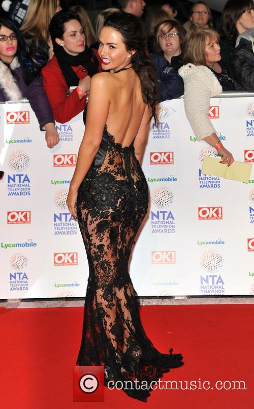 Jennifer Metcalfe, The o2 Arena, The National Television Awards