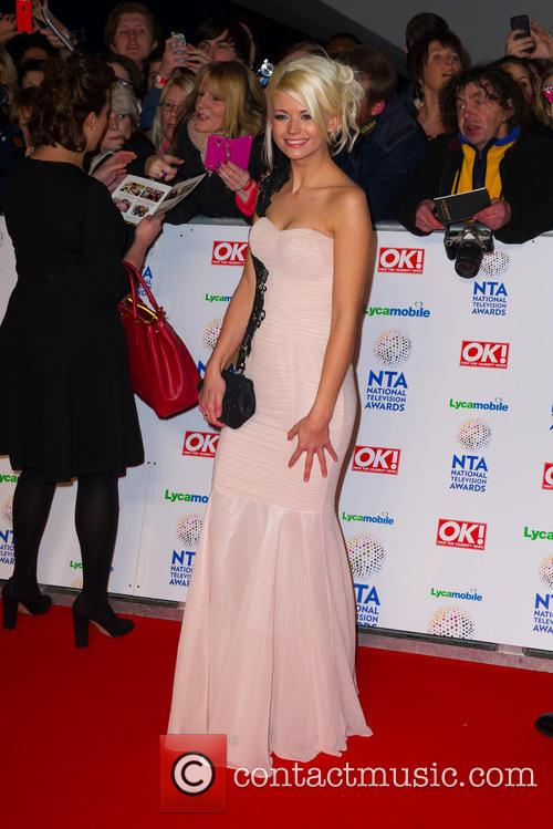 Danielle Harold, O2 Arena Greenwich, The National Television Awards