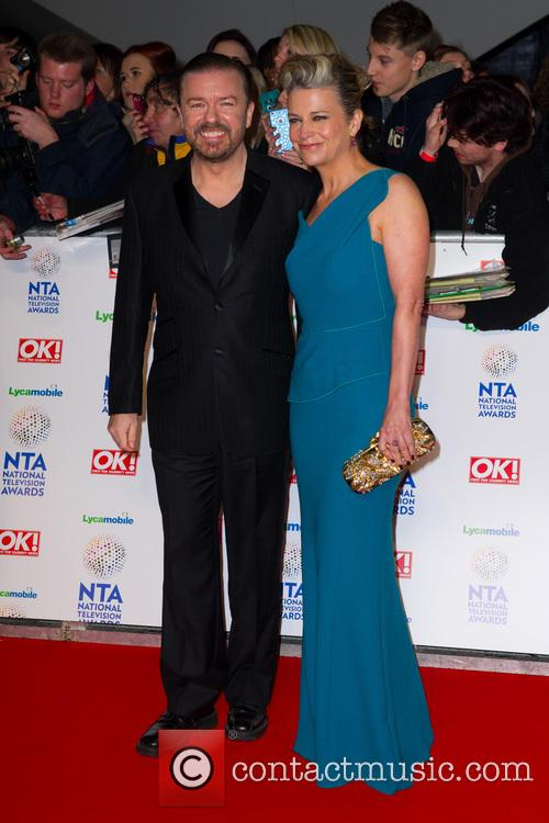 ricky gervais the national television awards 2014 4036846