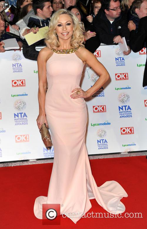 kristina rihanoff the national television awards 2014 4036223