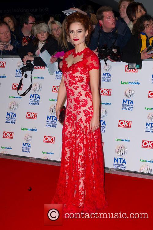 Paula Lane, O2 Arena Greenwich, The National Television Awards