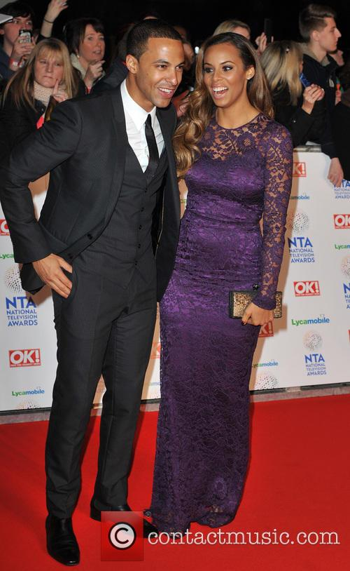Marvin Humes and Rochelle Wiseman 8