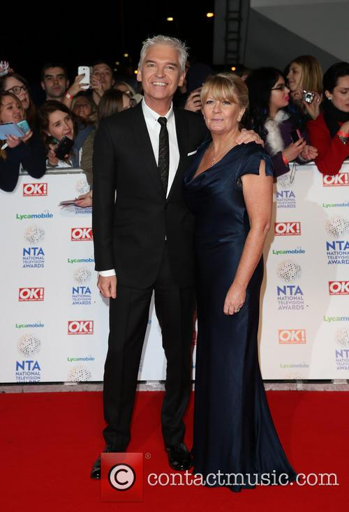 Phillip Schofield and Wife Stephanie Lowe 2