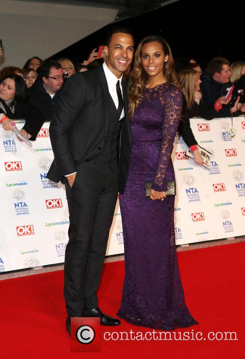 Rochelle Humes, Rochelle Wiseman and Marvin Humes 6