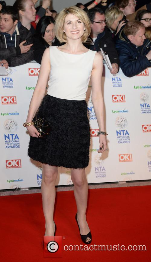 jodie whittaker the national television awards 2014 4036166