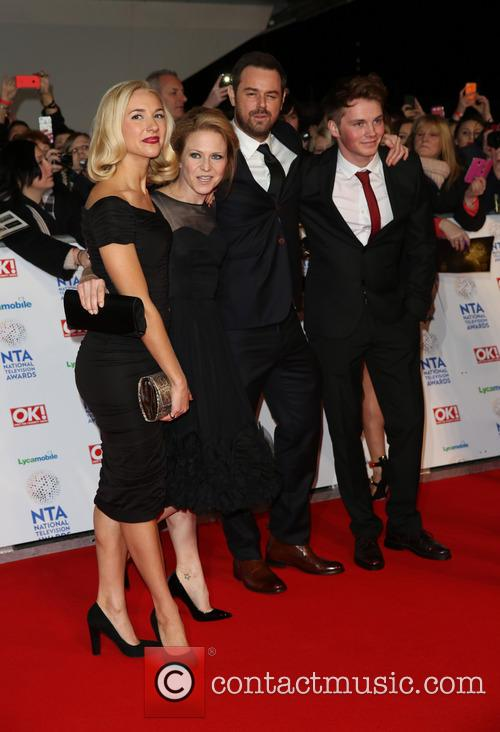 Maddy Hill, Kellie Bright, Danny Dyer and Sam Strike 1