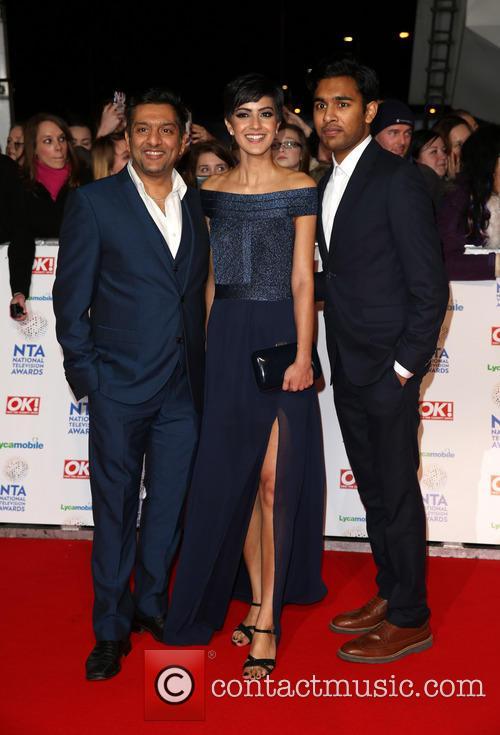 Nitin Ganatra, Rakhee Thakrar, Himesh Patel, The National Television Awards