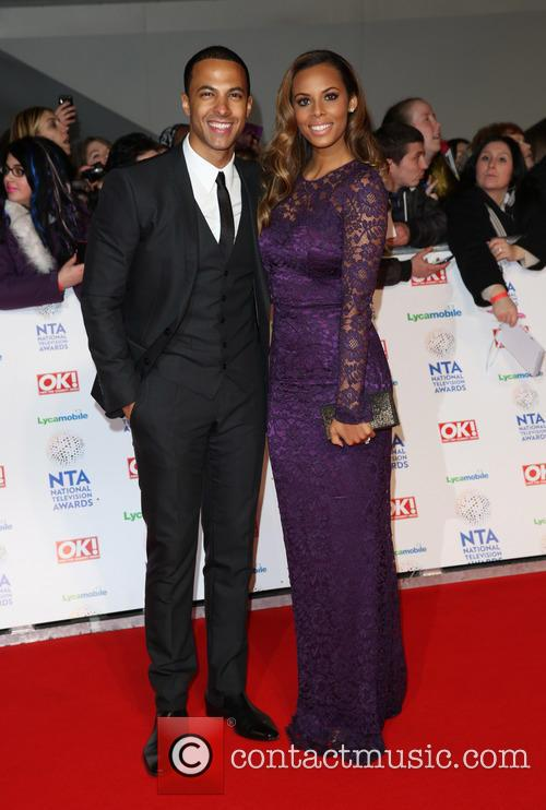 Rochelle Humes, Rochelle Wiseman and Marvin Humes 11