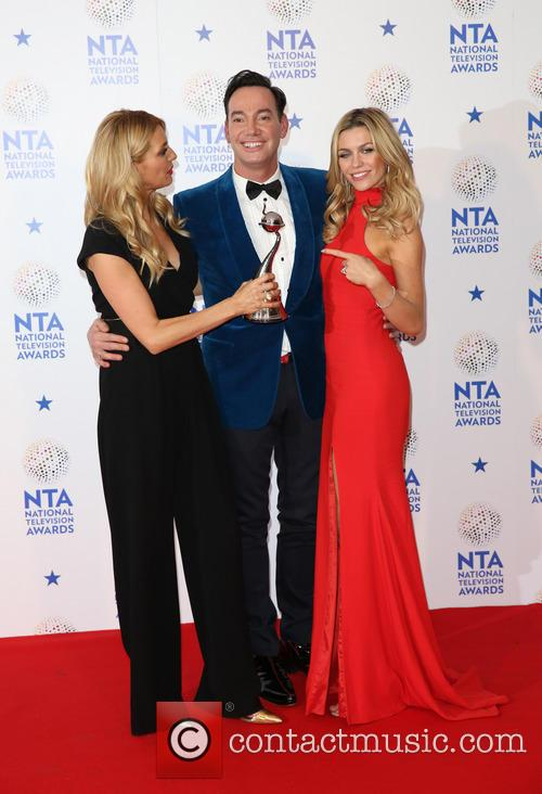 Tess Daly, Craig, Revel Horwood, Abbey Clancy and Abbey Crouch 6
