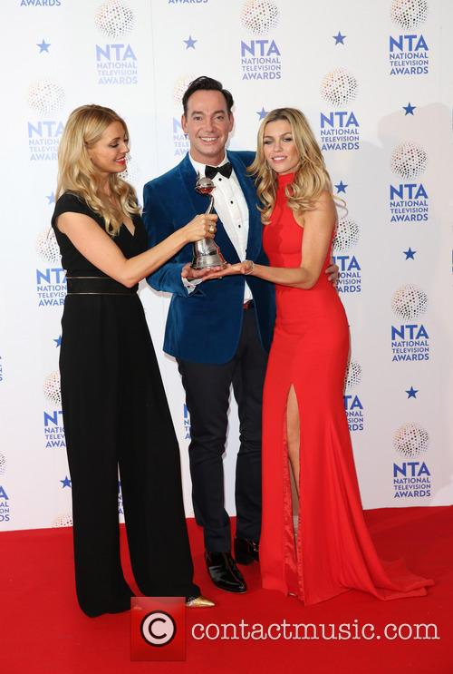 Tess Daly, Craig, Revel Horwood, Abbey Clancy and Abbey Crouch 9