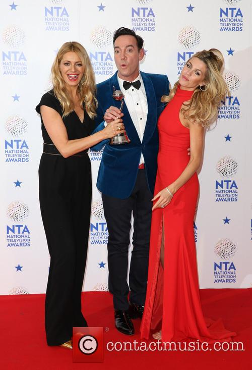Tess Daly, Craig, Revel Horwood, Abbey Clancy and Abbey Crouch 10