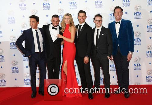 Craig Revel Horwood, Abbey Clancy, Bruno Tonioli, Kevin Clifton and Aljaz Skorjanec 2