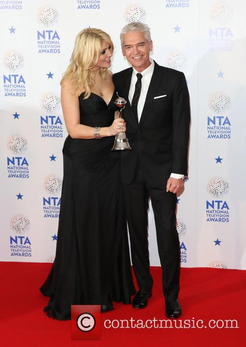 Holly Willoughby, Phillip Schofield, The National Television Awards