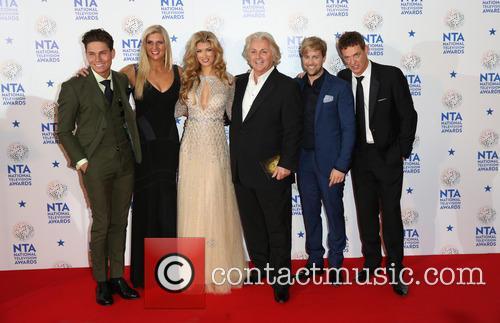 Joey Essex, Rebecca Adlington, Amy Willerton, David Emanuel, Kian Egan and Matthew Wright 1