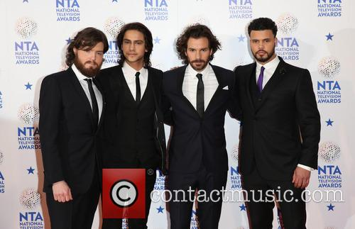 Luke Pasqualino, Tom Burke, Howard Charles and Santiago Cabrera 10