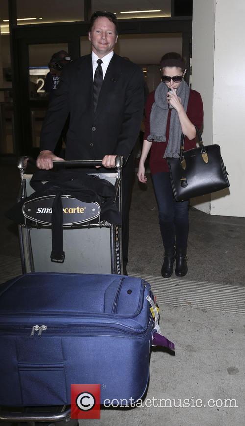 Anna Kendrick At LAX