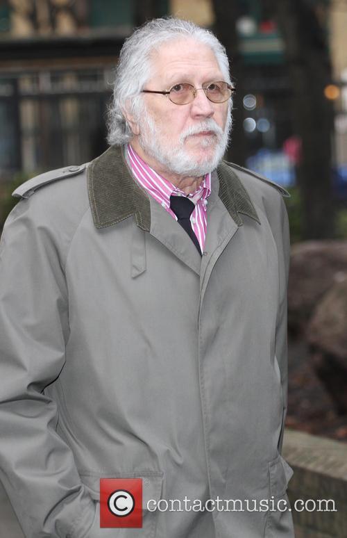 Dave Lee Travis arrives Southwark Court
